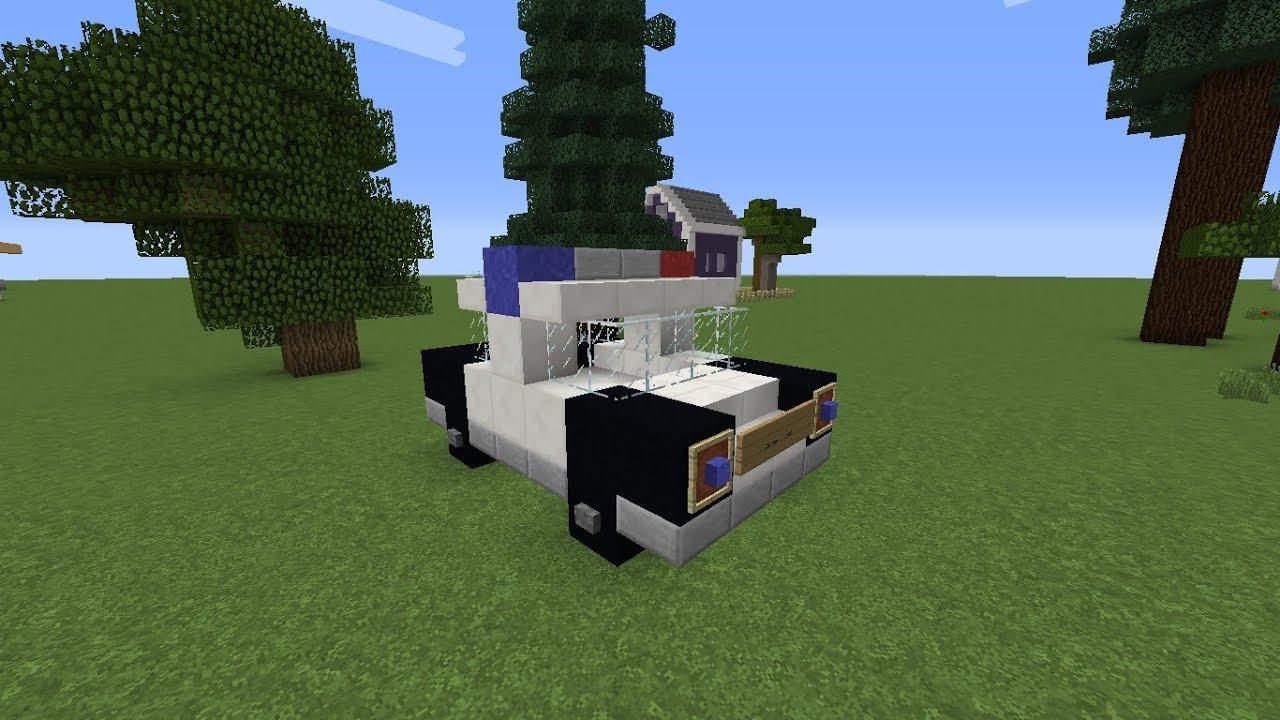 كيف تبني سيارة في ماين كرافت