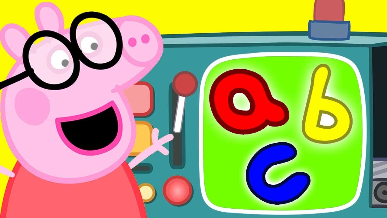 Peppa Pig Official Channel ? Learn the Alphabet with Peppa Pig | ABC Letter Boxes