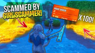 I Got Scammed By A Girl Scammer For Whole Inventory! (Scammer Gets Scammed) Fortnite Save The World