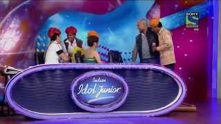 moti khan indian idol auditions tere mast mast do nain