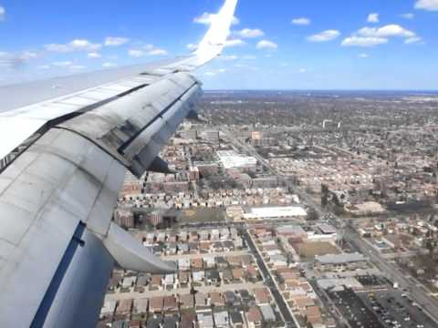 Boeing 757-200 American Airlines Landing at Chicago O