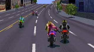 Road Rash · Early Pre-Release Demo