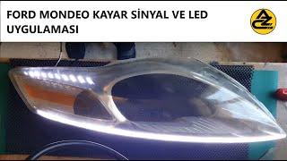 Ford Mondeo Led Far Nasıl Yapılır - How to make Ford Mondeo Led Headlight