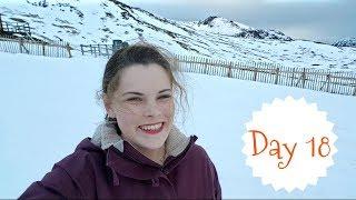 Ski Lift and Sledging Atop Glencoe Mountain Resort | VLOGMAS