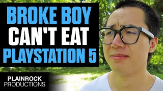 SPOILED YouTuber SMASHES PS5 In Front Of Poor Kid Instantly Regrets It Dhar Mann PARODY