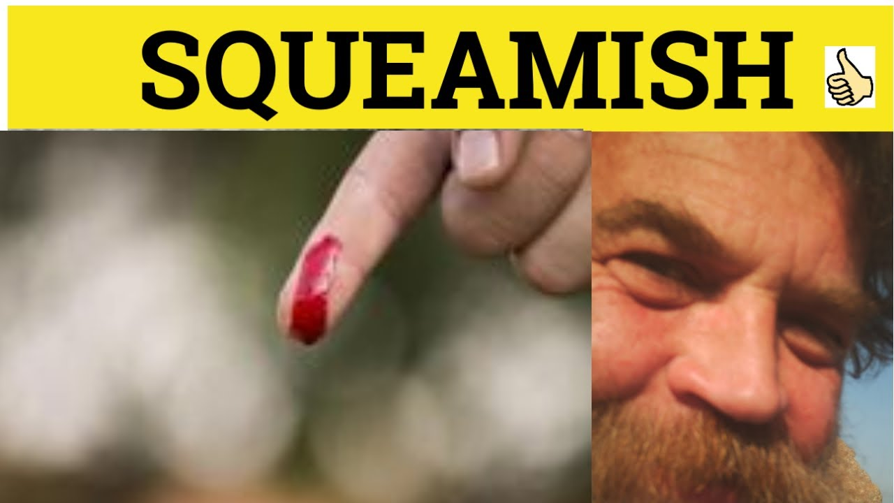 Download 🔵 Squeamish Squeamishly - Squeamish Meaning - Squeamish Examples - Squeamish Definition