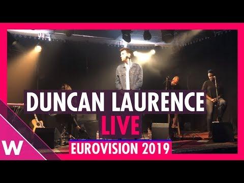 "Duncan Laurence ""Arcade"" acoustic @ Eurovision 2019 Showcase"