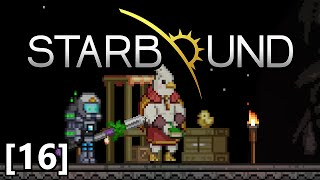 Starbound - Part 16 - Kluex Avatar Boss Fight, Crew Member