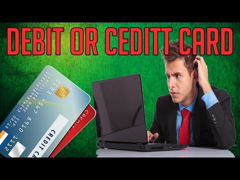 Difference Between Credit And Debit Card Explained ✓