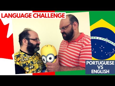 LANGUAGE CHALLENGE - PORTUGUESE VS ENGLISH! | The Fluffies Channel | Travel, Culture, Lifestyle,Food