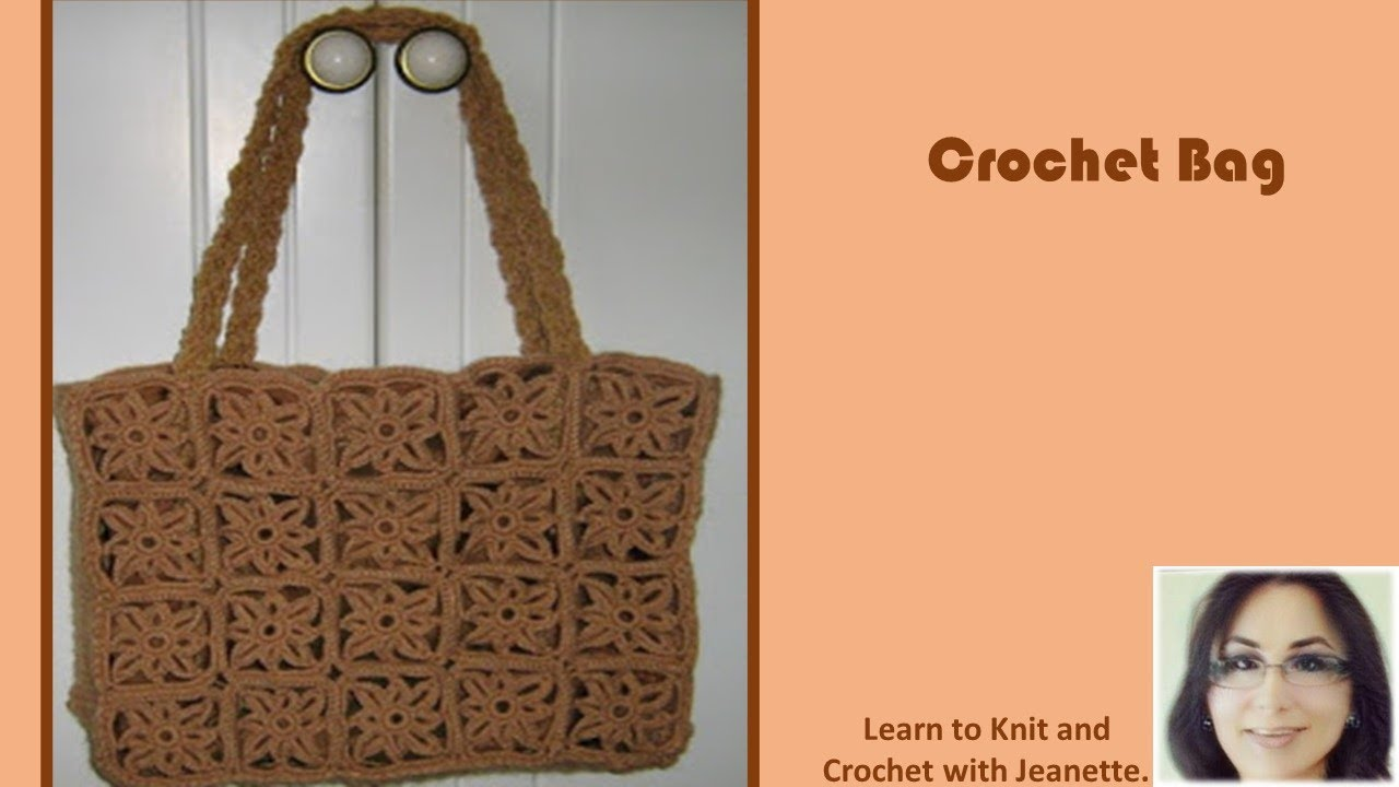 How To Crochet A Bag : Crochet Bag - YouTube