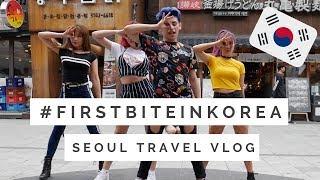 [SEOUL TRAVEL VLOG pt 2] BUSKING in Hongdae and visiting KKtalk store!