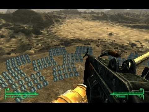 Fallout New Vegas Gameplay: Helios One and Finding & Using Euclid's C-Finder (in 1080p HD)