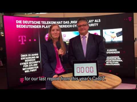 Social Media Post: CeBIT 2017 - 60 seconds with… Dirk Backofen