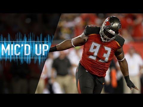 "Gerald McCoy Mic'd Up vs. Steelers ""My Fault Ben!"" | NFL Films"