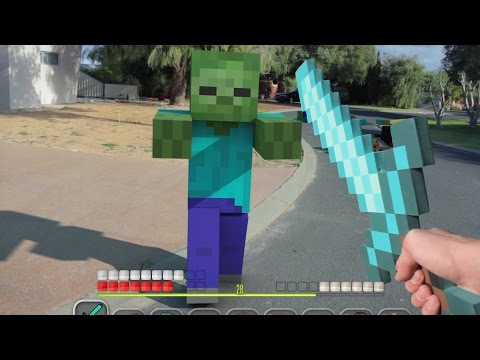 Top 7 Minecraft Animations (Minecraft Real Life Compilation)