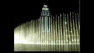 UAE. Арабские Эмираты. Дубай. Фонтаны..(ОАЭ. Дубай. видео туристов., 2012-05-05T18:29:37.000Z)