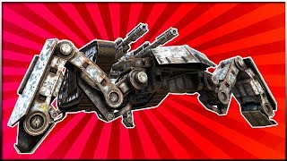 Crossout - IT'S ALIVE! Amazing Design Idea For Added Armor (Crossout Gameplay)