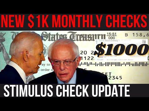 SANDERS DID IT! 4th Stimulus Check + Social Security Increase + UBI Update