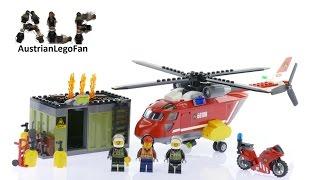 Lego City 60108 Fire Response Unit - Lego Speed Build Review