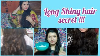 Long Shiny hair Secret mask my review of merium pervaiz hair mask hair mask Shehla vlogs