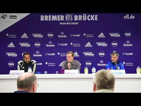 Pressekonferenz VfL Osnabrück gegen 1. FC Magdeburg 0:2 (0:2)