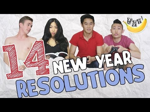 14 New Year Resolutions