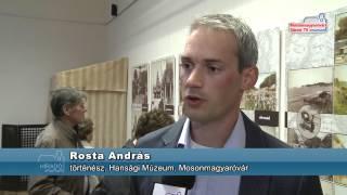 Rakovszky Béla kiállítás a Hansági Múzeumban