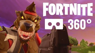 [360 video] Fortnite Virtual Reality Google Cardboard Samsung Gear VR