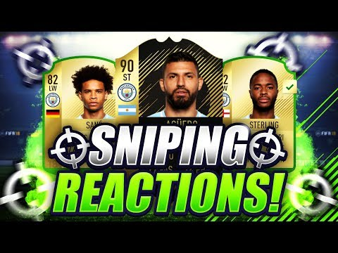 FIFA 18 | 100K PER HOUR SNIPING FILTERS 🐧 SNIPING REACTIONS EP1 🔥 I MADE SOOOO MUCH MONEY 😱