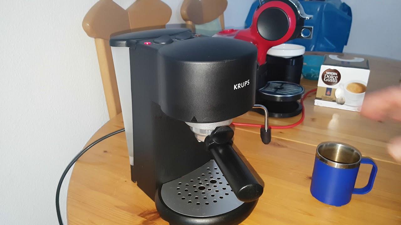 Кофеварка krups рожковая