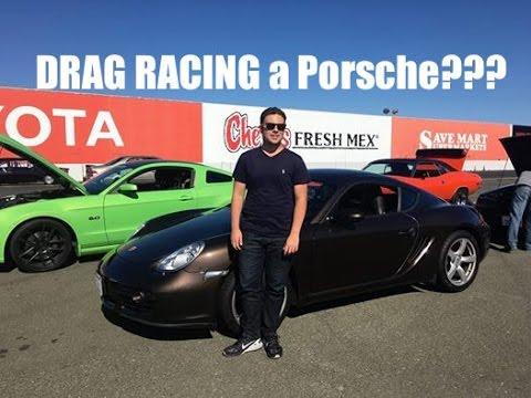 DRAG RACING a Porsche Cayman - Is it FAST?