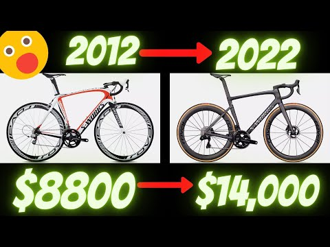 (INFLATION!!!!) HAVE BICYCLES ALWAYS BEEN $12,000 OR IS THE GLOBAL PANDEMIC TO BLAME? thumbnail