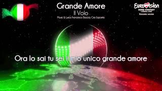 """Il Volo - """"Grande Amore"""" (Italy) - [Karaoke version]"""