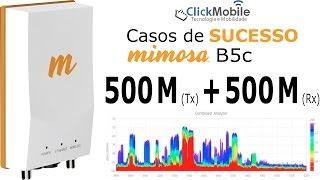 resultado real com algcom e rdio mimosa b5c click mobile