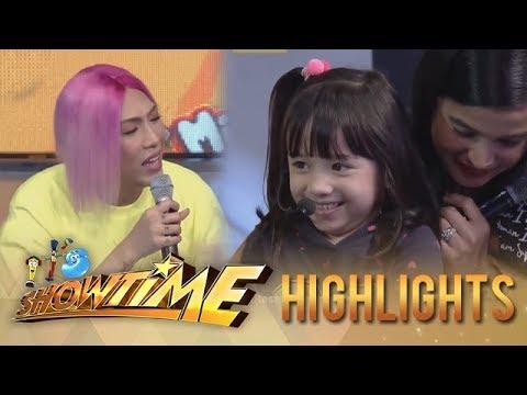Its Showtime Mini Me 3: Vice Ganda plays with Ella Mae Mccoy