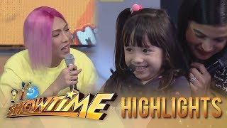 It's Showtime Mini Me 3: Vice Ganda plays with Ella Mae Mccoy