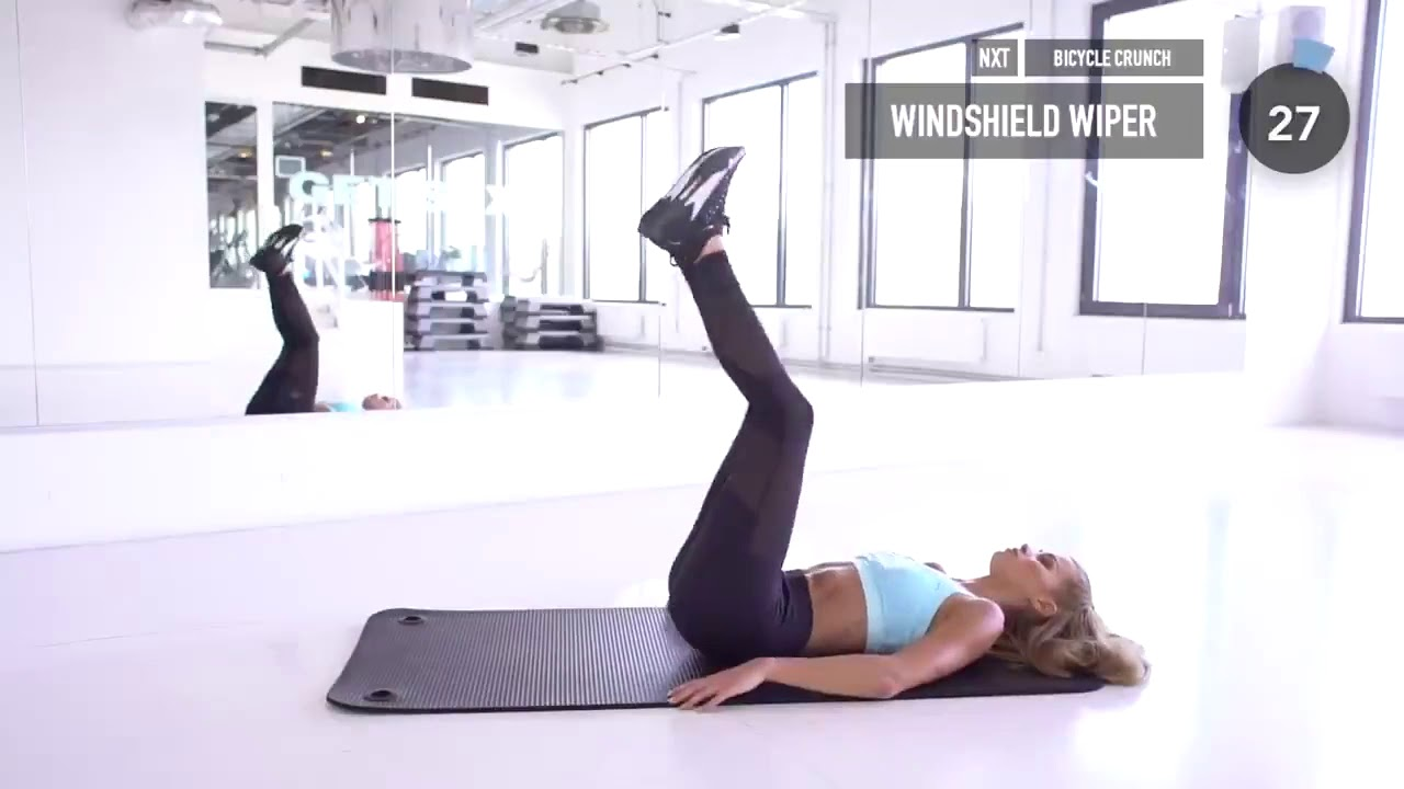 Pamela Reif! 10 MIN AB WORKOUT - Side Abs & Obliques __ No Equipment _ Pamela Reif