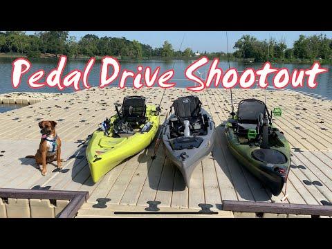 Pedal Drive Shootout: Hobie Outback VS Jackson Cruise FD VS Native Manta Ray