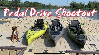 Pedal Drive Shootout: Hobie Outback VS Jackson Cruise FD VS Native Manta Ray