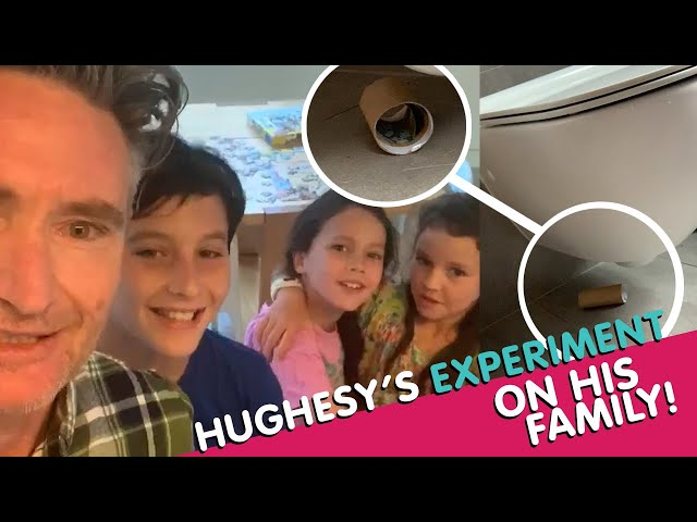 Hughesy's Social Experiment On His Family! | Hughesy & Ed