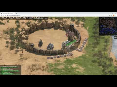 Desertorder Gameplay Video: 6. What equipment can be built at airbases and port bases