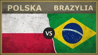 POLSKA vs BRAZYLIA - Potencjał militarny [2018]