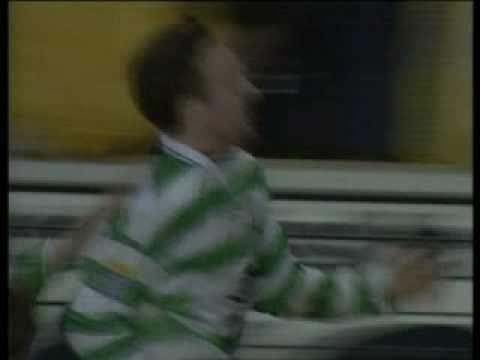 Paul Lambert goal Celtic v Rangers 1998