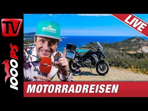 Motorradreisen - Grosse Touren, Vorbereitung, Erfahrungen mit World Spins as fast as we ride
