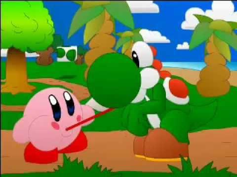 Kirby y Yoshi - nin10doh - YouTube