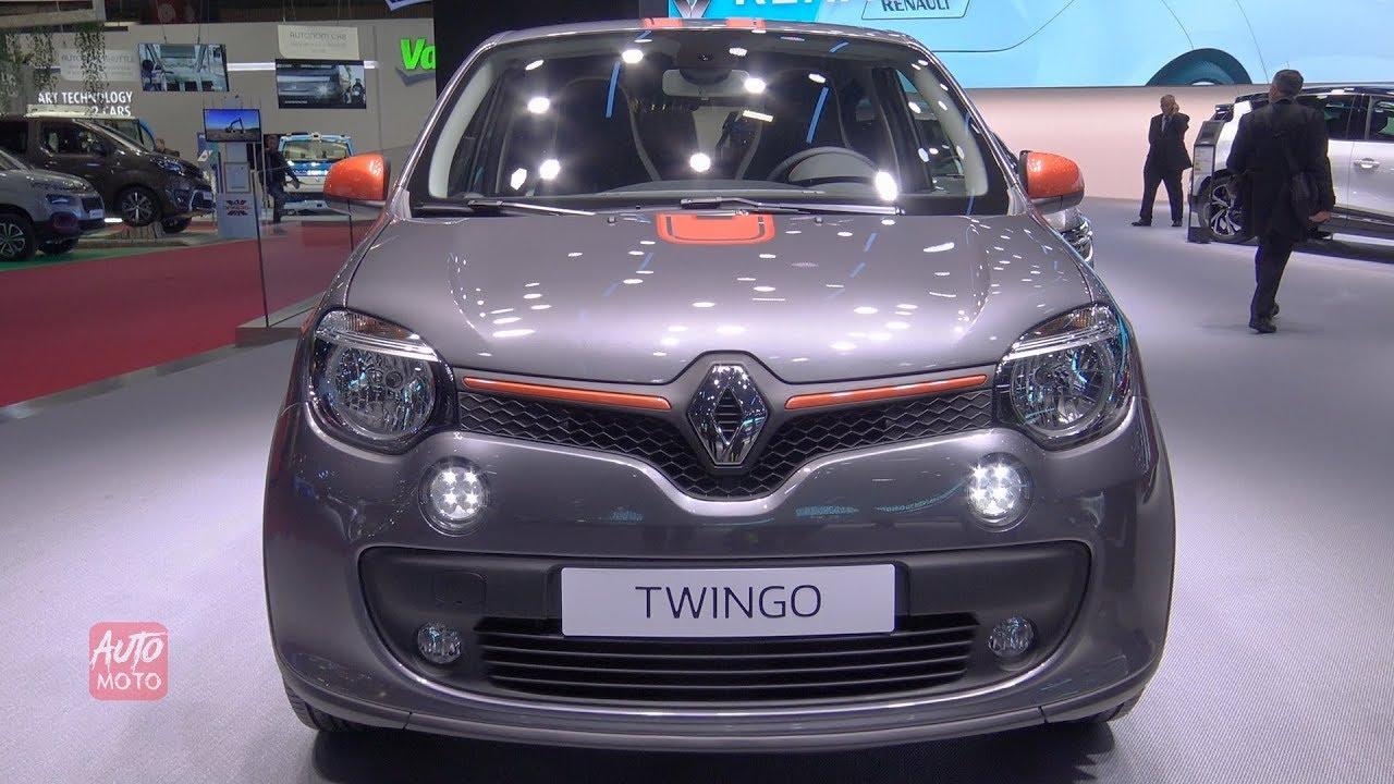 2019 Renault Twingo GT Sport - Exterior And Interior Walkaroound - 2018  Paris Motor Show