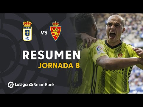 Resumen de Real Oviedo vs Real Zaragoza (2-2)