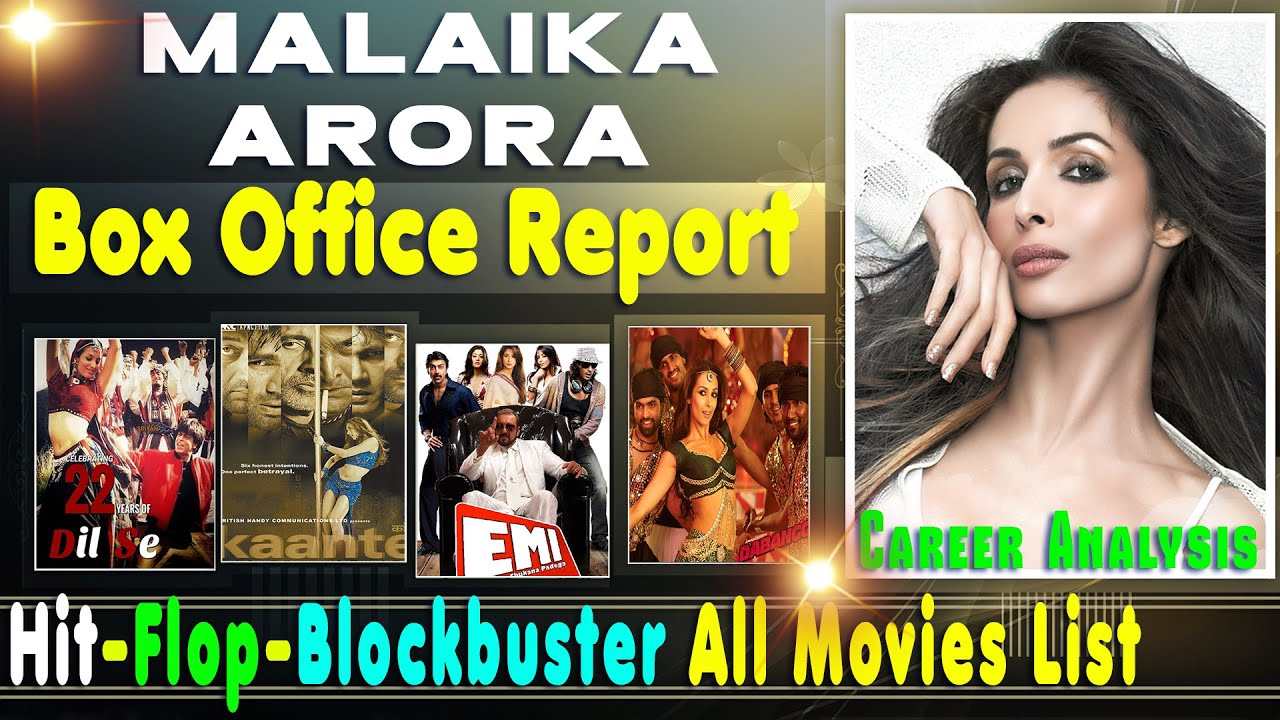 Download Malaika Arora Hit and Flop Blockbuster All Movies List with Budget Box Office Collection Analysis