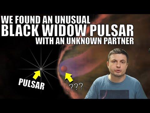 Black Widow Pulsar Destroying Something Undefined In Its Orbit